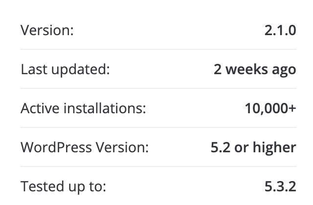 Active Installations metric